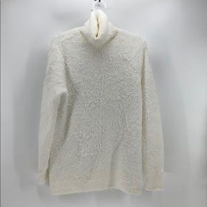 Zara Knit eyelash Snow White sweater